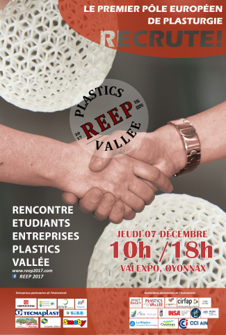 Rencontre Etudiants Entreprises de la Plastics Vallée 2017