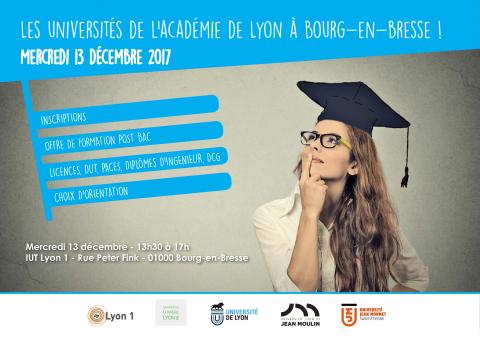 Forum des Universités de l'académie de Lyon à Bourg-en-Bress...