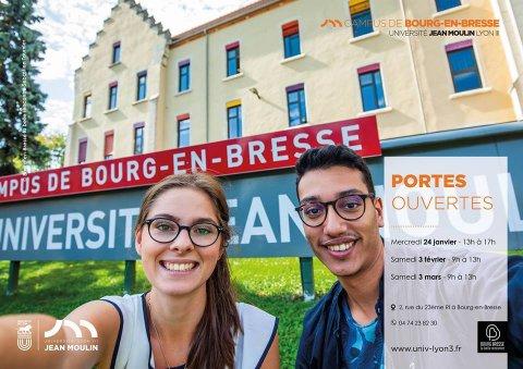Portes ouvertes du Campus de Bourg-en-Bresse de l'université...