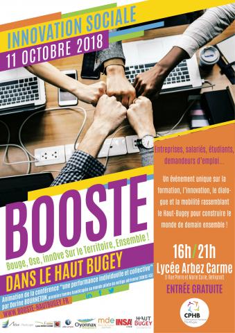 Forum Booste Haut-Bugey