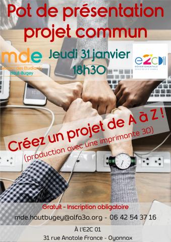 Pot de présentation projet commun MDE Haut-Bugey x E2C01