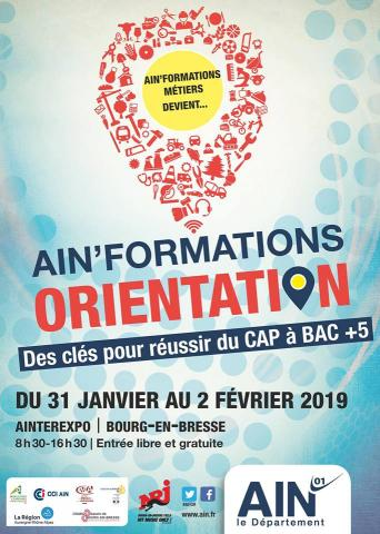 Salon Ain'Formation ORientation 2019