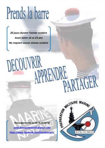 Stage de découverte de la Marine Nationale
