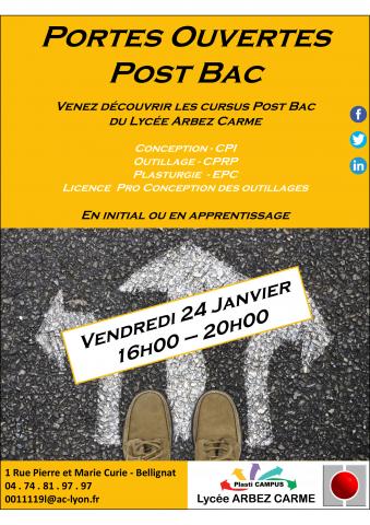 Journée portes ouvertes du Lycée Arbez Carme de Bellignat