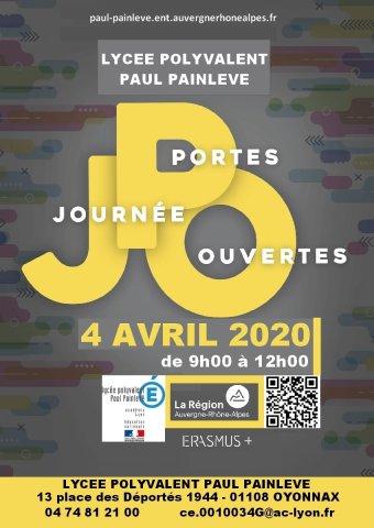 Journée portes ouvertes du Lycée Paul Painlevé Oyonnax