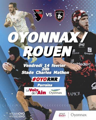 Oyonnax Rugby vs Rouen