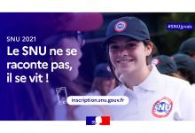 Affiche Service national universel 2021
