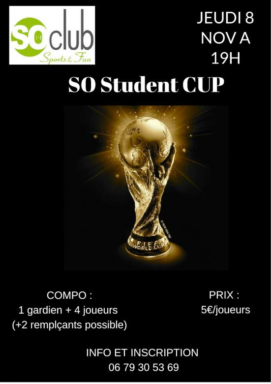 So Student Cup