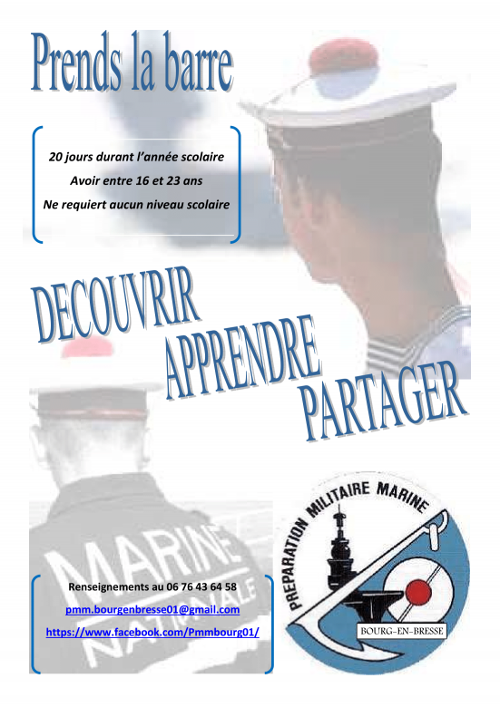 Stage de découverte de la Marine Nationale